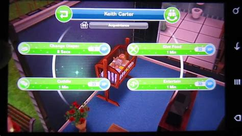How To Buy A Crib On Sims Freeplay by How To Actually A Baby In The Sims Freeplay Android Htc Desire S Hd