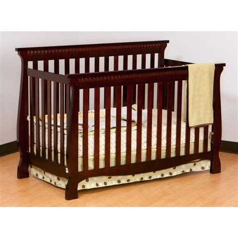 Stork Craft Venetian Crib by Stork Craft Venetian 4 In 1 Fixed Side Convertible Crib