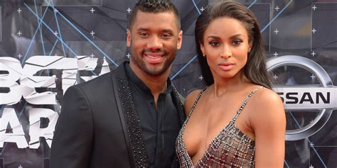 russell wilson says he and ciara are practicing abstinence ciara and boyfriend russell wilson are practicing abstinence