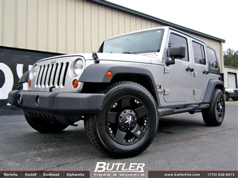 Jeep 18 Wheels Jeep Wrangler With 18in Xd Rockstar Wheels Exclusively