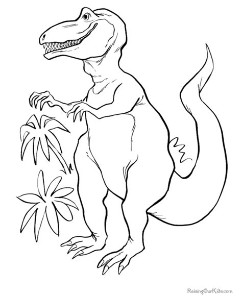 printable free dinosaur coloring pages dinosaur coloring page 002