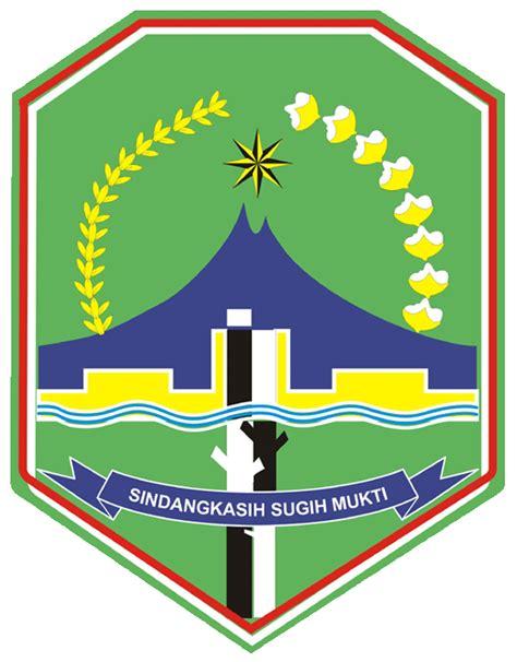 Logo Jawa Barat Bordir logo kabupaten majalengka majalengka jawa barat gratis
