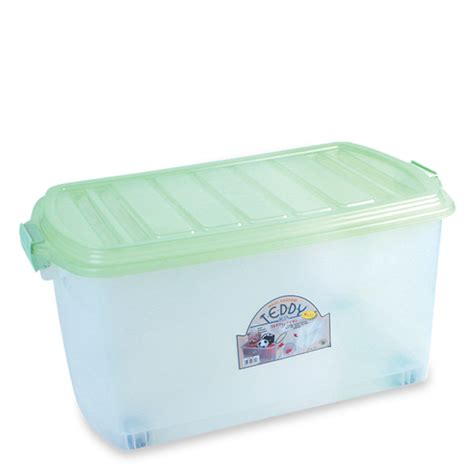 Keranjang Plastik Roda kontainer box plastik roda type teddy rajaplastik co id