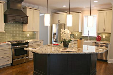 Triangular Kitchen Island carolina on my mind parade of homes