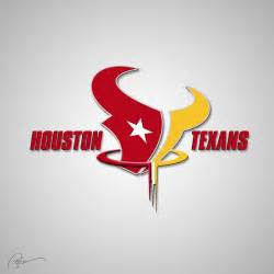 nearest tattoo shop houston texans logo merged with houston rockets logo looks pretty slick battle red blog