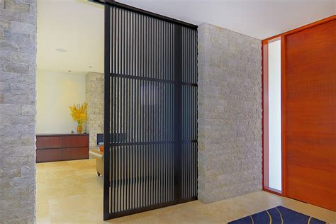 beautiful sliding room dividers in entry contemporary with