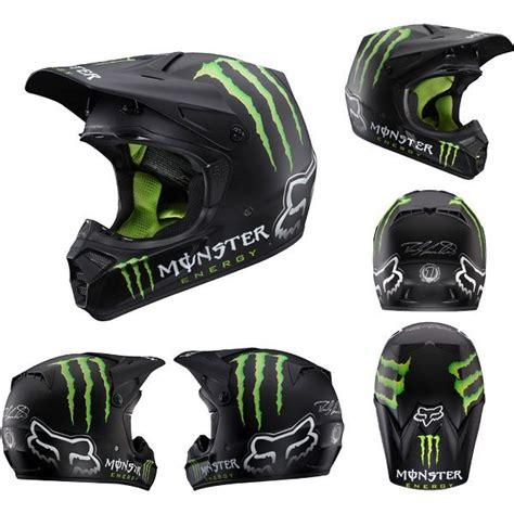 motocross helmet closeout fox racing v3 ricky carmichael rc replica matte