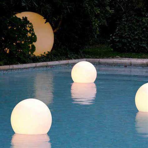 floating pool lights amazon led floating swimming pool sphere light 50cm buy pool lights