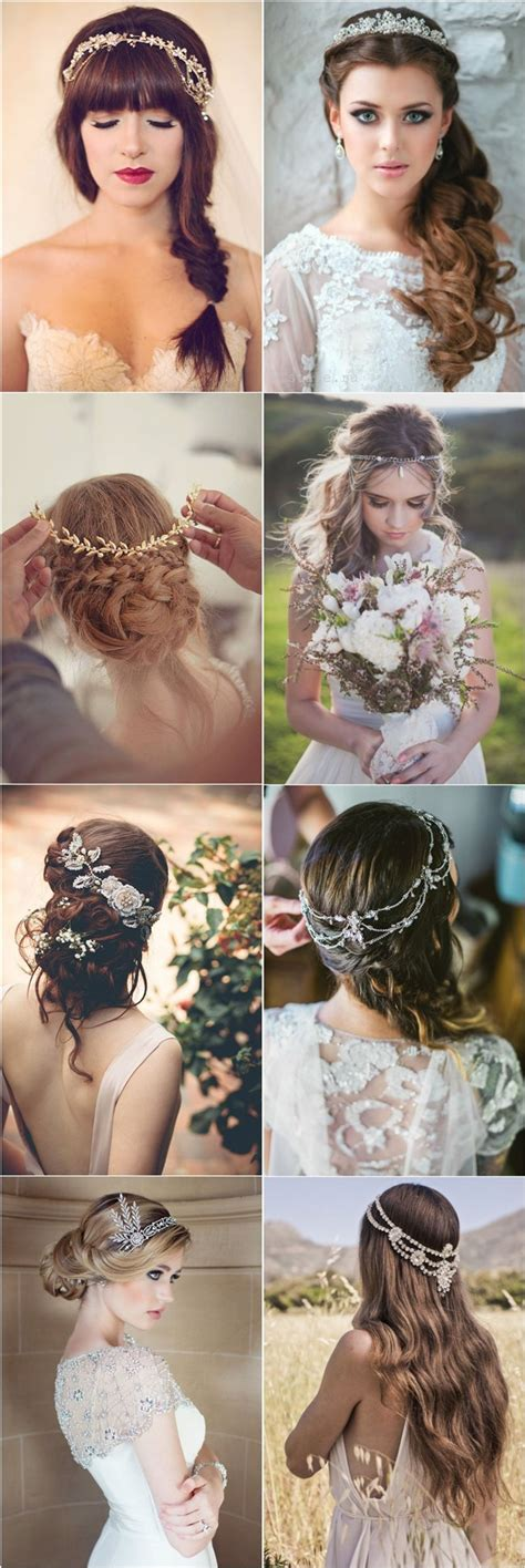 Wedding Hairstyles Headpiece by 25 Amazing Wedding Hairstyles With Headpiece Wedding