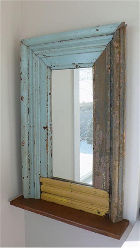 diy mirror frame molding salvaged molding mirror home decor diy pinterest