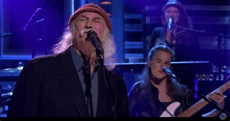 david crosby new song david crosby performs new song quot she s got to be somewhere