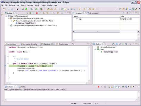 pattern java starts with java debugging with eclipse tutorial 三国梦回 博客园