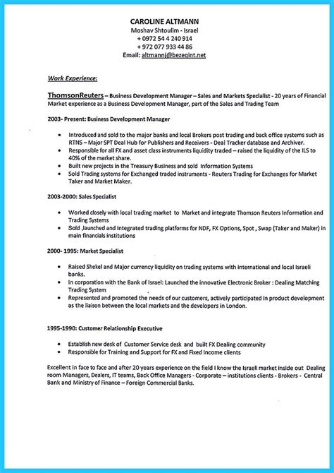 best words for the best business development resume and best