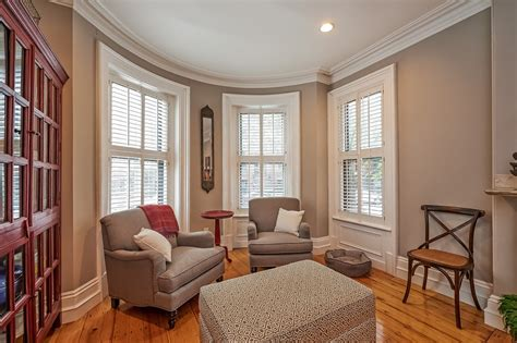 pretty bay window seats dining room traditional