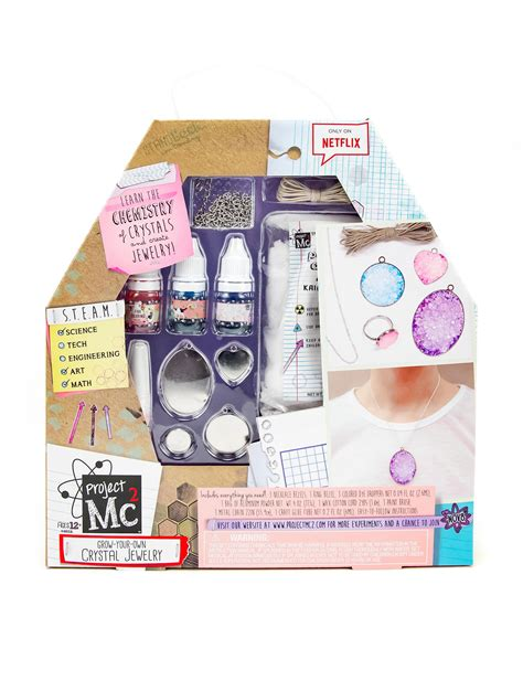 Tas Gadget Q Lab 02055 project mc2 grow your own jewelry set stage stores
