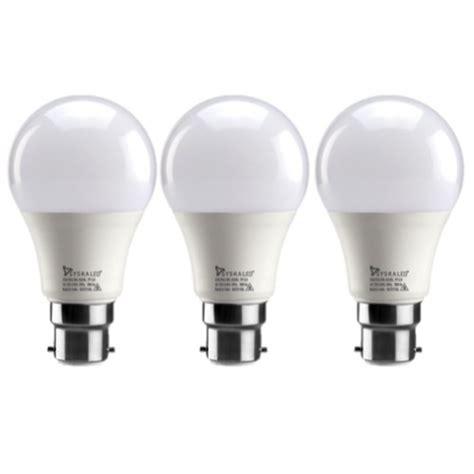 led light bulb pack led 9 watt bulb pack of 3 cool white buy home