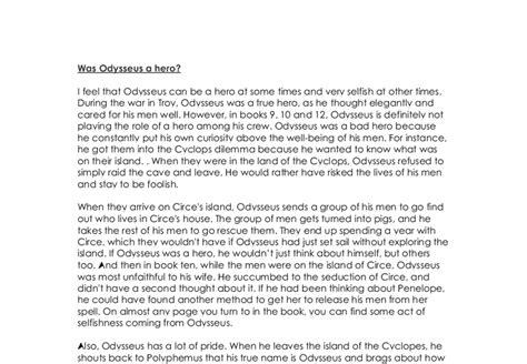 Odysseus Is A Essay by Essay On Odysseus Not Being A Reportthenews567 Web Fc2