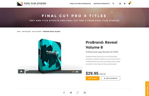 final cut pro unsupported volume type pixel film studios releases probrand reveal volume 8 for
