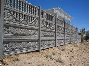 Precast Concrete Fencing   Landscaping Network