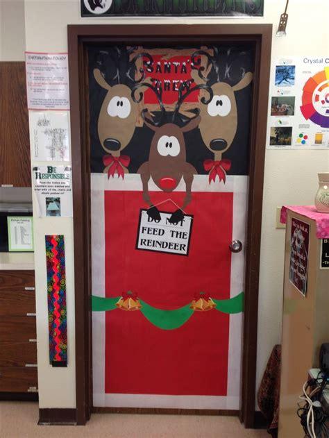 christmas door decorations for work 20 best door decor images on