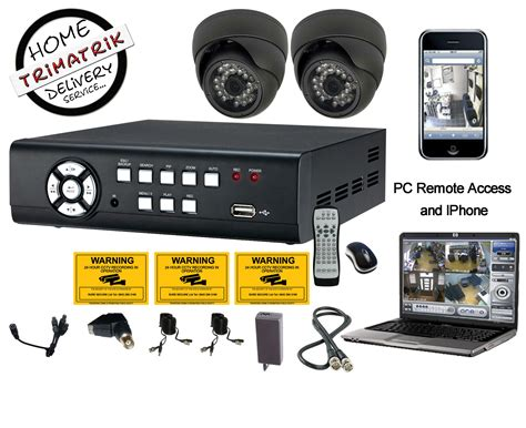 Cctv Avtech 2 cctv avtech cameras with 4 channel pc based dvr clickbd
