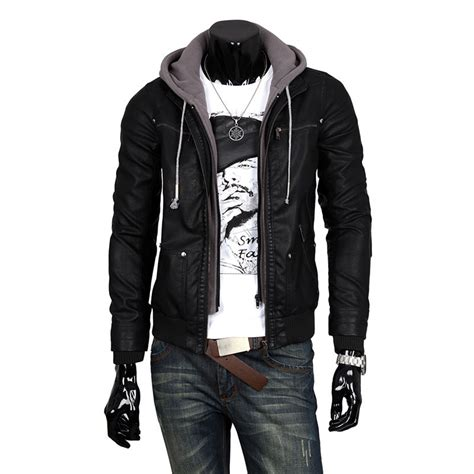 Jaket Hoodie by Popular Hoodie Leather Jacket Buy Cheap Hoodie Leather