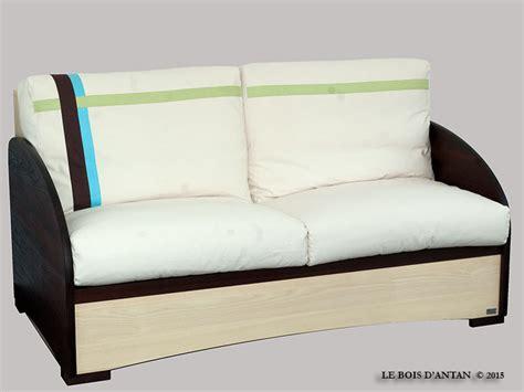 canapé convertible ecologique ecologie design des meubles en bois massif 233 cologiques