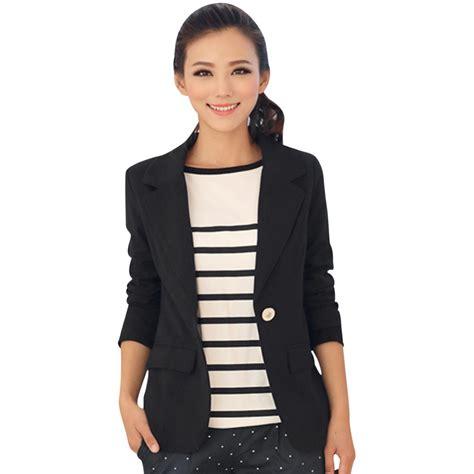 Blazer Korea Black Style 3 2015 new arrival work blazers korea coats for