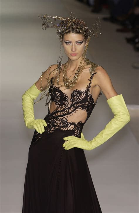 jean paul gaultier for christian dior jean paul gaultier spring 2003 runway pictures stylebistro