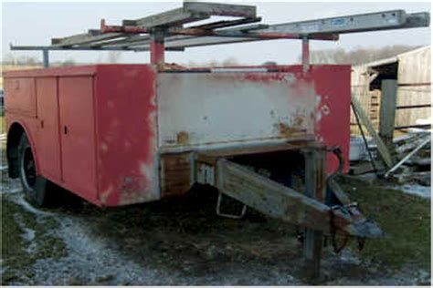 utility bed trailer saturday