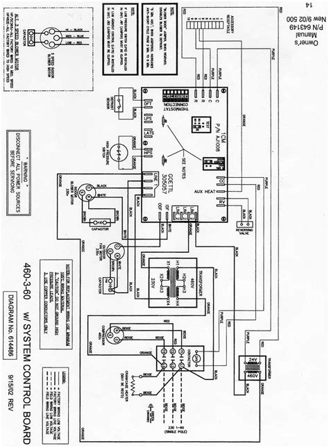 goodman heat package unit wiring diagram 45 wiring