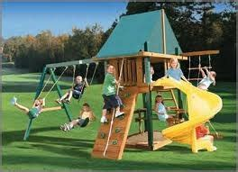 cool swing set 17 best images about outdoor play equipment on pinterest