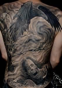 amazing raven tattoo design best tattoo 2015 designs