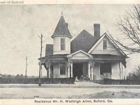 bufords historic allen homes buford ga patch
