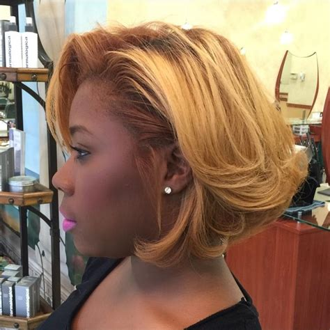 blonde ombre feathered styles for african americans 863 best images about hairstyles on pinterest short hair