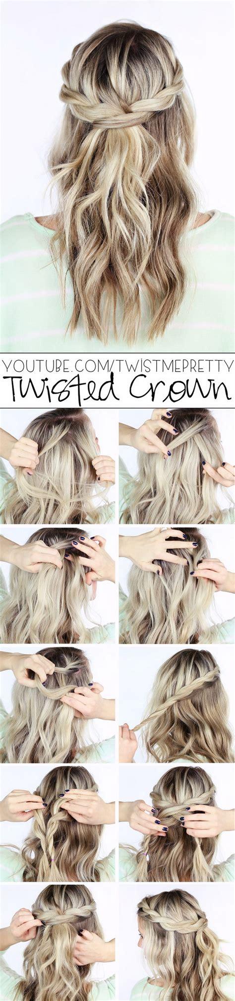 easy diy half up half down hairstyles 55 stunning half up half down hairstyles