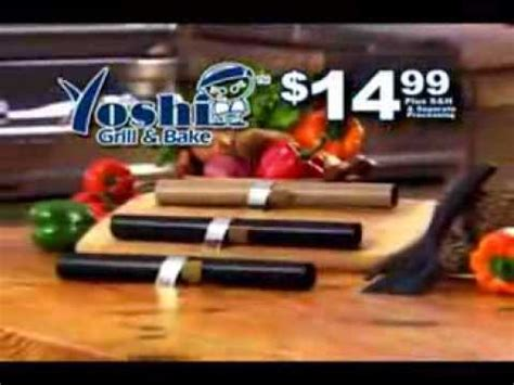 as seen on tv the yoshi grill and bake cooking mats as