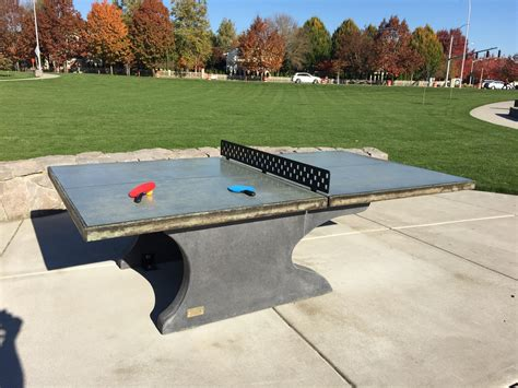 concrete ping pong table concrete ping pong table 22 best outdoor ping pong tables
