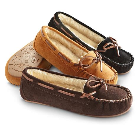 moccasins house shoes women s blitz 174 ballerina moccasin slippers 228331 slippers at sportsman s guide