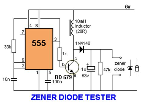 diode circuit test electronica 555