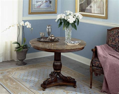 how to decorate a table how to decorate a round entryway table stabbedinback