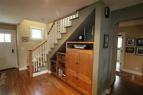 Stair Cabinet Designs by Stair Storage