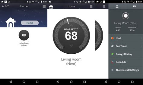 nest app for android the basics of using a nest thermostat with android ios and the web android central