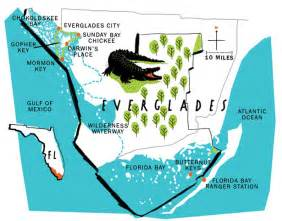 florida everglades map my in the florida and beyond everglades