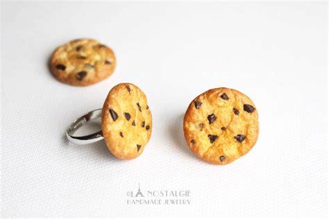 Cookies Handmade - chocolate chip cookie ring handmade jewelry by
