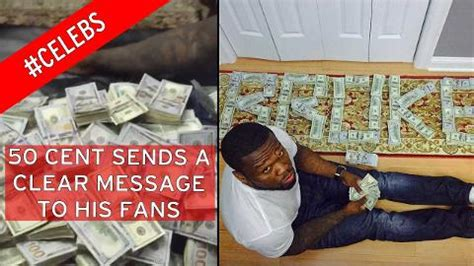 50 cent to the bank bankrupt 50 cent reveals stacks of bank notes in