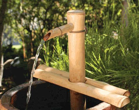 bamboo accents 174 12 adjustable bamboo fountain kit