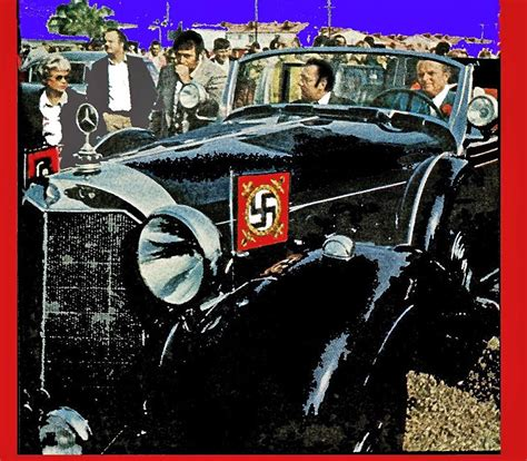 Hitler Auto by Earl Clark And Tom Barrett Resting In Adolf Hitlers