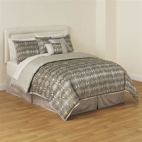 essential home comforter set essential home clayton complete comforter set home bed