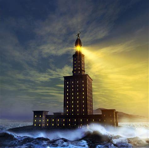 Lighthouse Of Alexandria Travelling Moods Lights Alexandria
